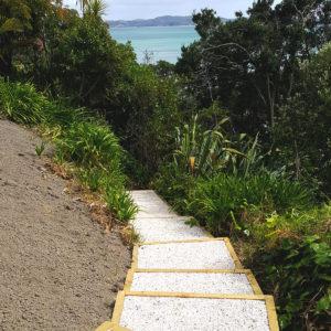 Riggas Auckland Beach steps in Whangaparoa